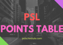 psl points table