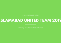 Islamabad united squad 2020