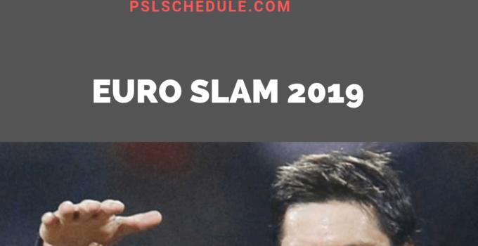 euro slam 2019