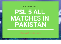 PSL Tickets [PSL online Tickets With Price] - pslschedule com
