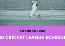 t10 cricket 2019 schedule