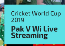 Pak Vs Wi Cricket world cup 2019 Live streaming