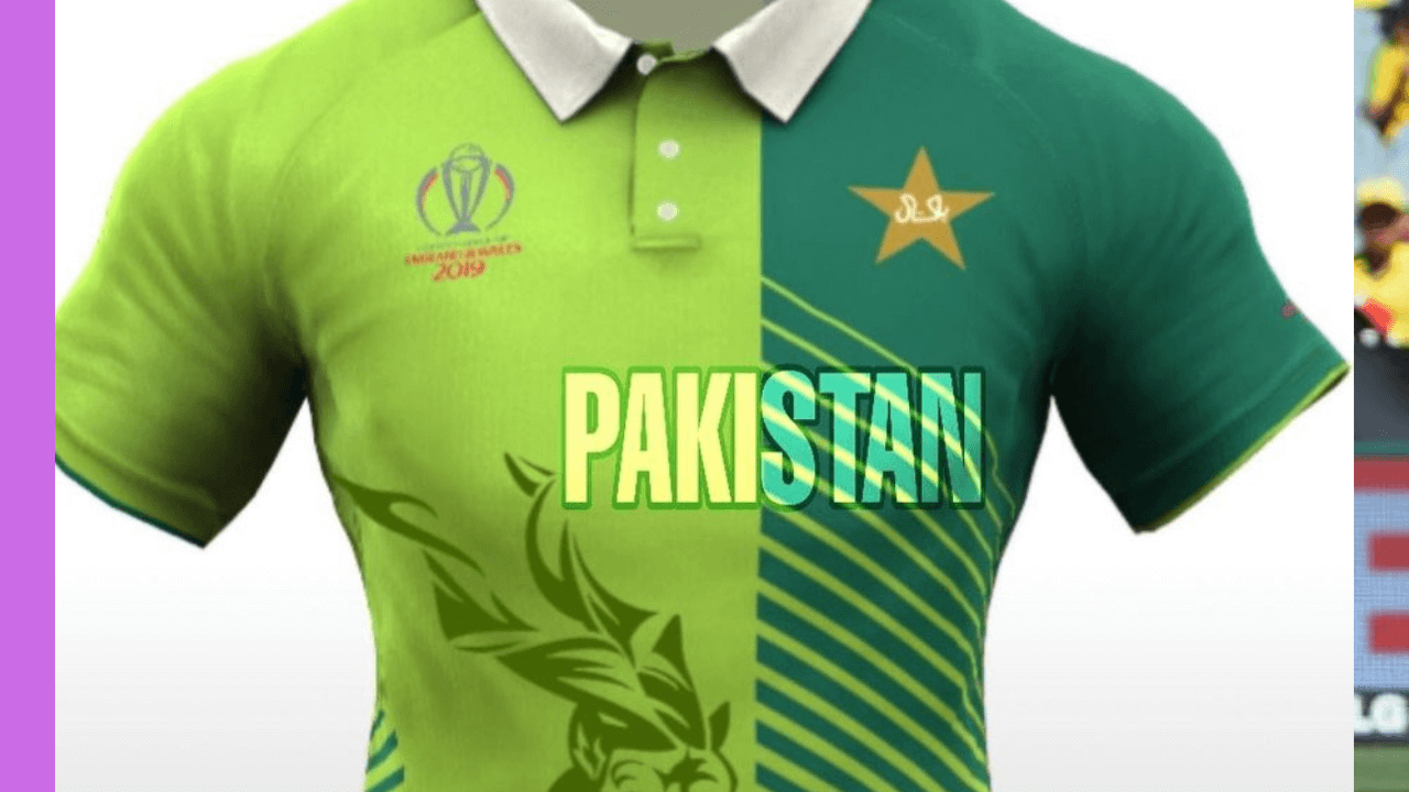 Pakistan cricket jersey for world cup 2019